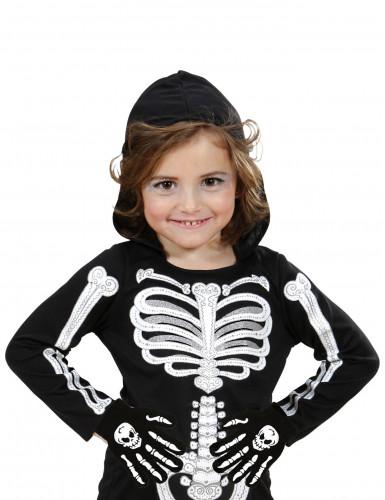 Gants os et crâne enfant-1