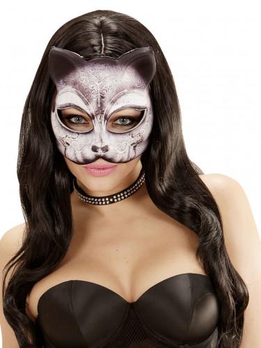 Masque chat féérique adulte