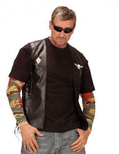 Gilet biker adulte