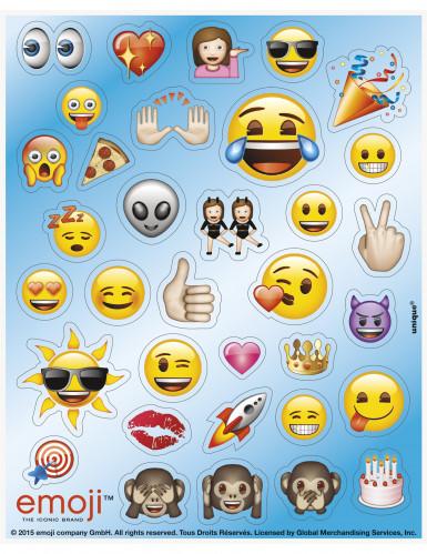 136 Stickers autocollants Emoji™ 15 x 12,5 cm