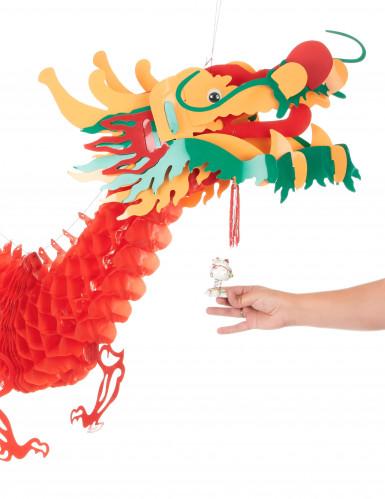 Décoration dragon rouge 2.5 m Nouvel an chinois-2