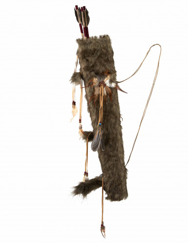 Arc avec fléches indien luxe 90 cm-1