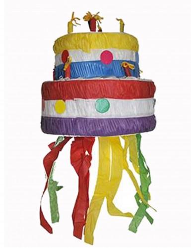 Piñata gâteau d'anniversaire 30 cm