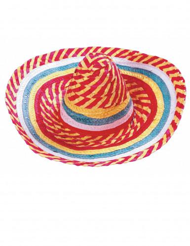 Sombrero Mexicain tutti frutti adulte-1