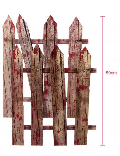 2 Décorations barrières ensanglantées d'Halloween 59 cm-2