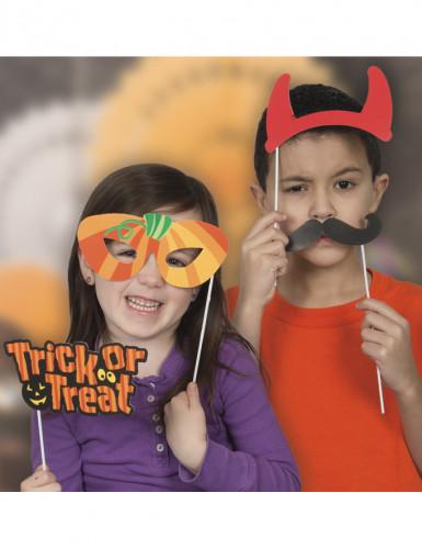 Kit photobooth Halloween 10 accessoires-1