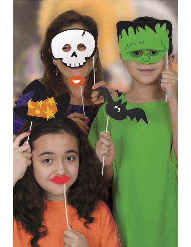 Kit photobooth Halloween 10 accessoires-2