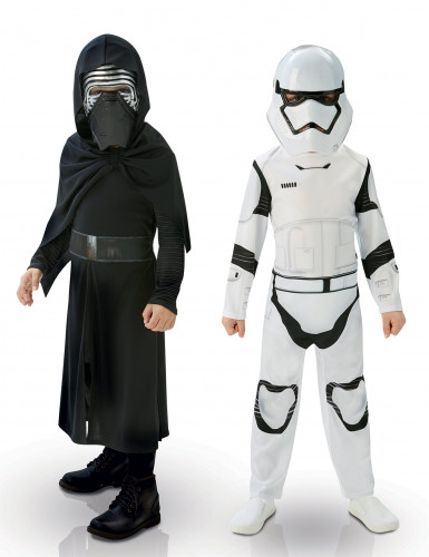 Pack déguisement Kylo Ren & StormTrooper Star Wars VII™ enfant