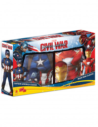 Déguisement duo Iron Man et Captain America Civil War™ enfant-1