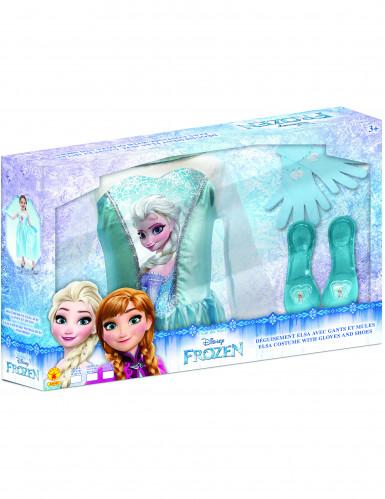 Coffret Déguisement Elsa + accessoires - La Reine des neiges™-1