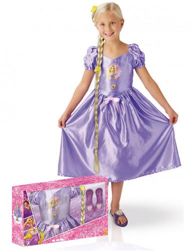 Coffret déguisement Raiponce™ avec accessoires enfant