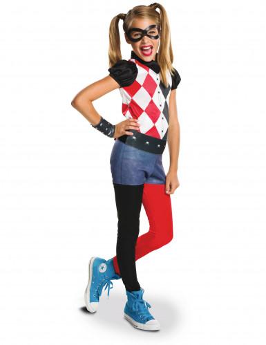 Déguisement classique Super Hero Girls Harley Quinn™ fille