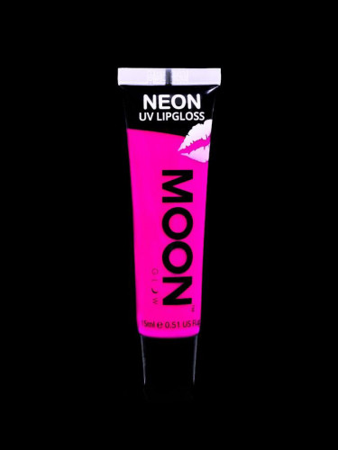 Rouge à lèvres rose fluo UV senteur framboise 15 ml Moonglow ©-1