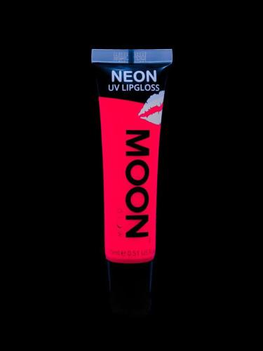 Rouge à lèvres rouge fluo UV senteur fraise 15 ml Moonglow ©-1