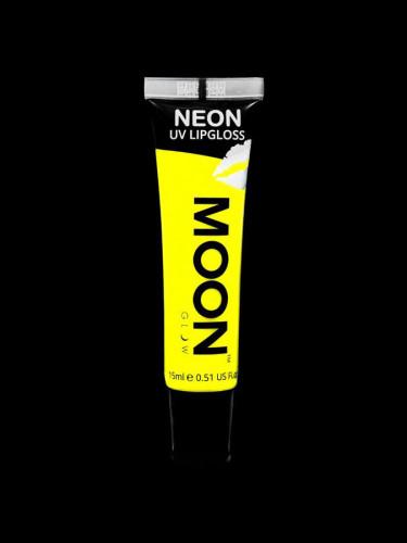 Rouge à lèvres jaune fluo UV senteur banane 15 ml Moonglow ©-1