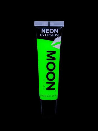Rouge à lèvres vert fluo UV senteur pomme 15 ml Moonglow ©-1
