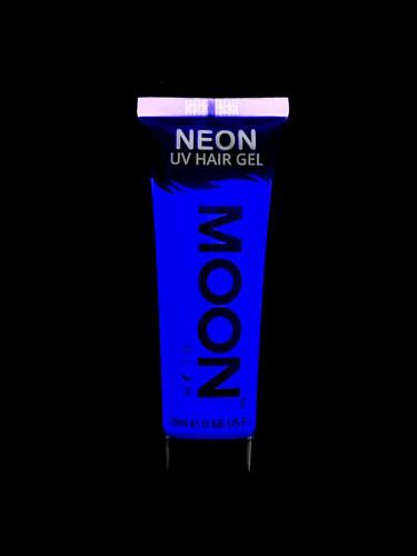 Gel cheveux bleu fluo UV 20 ml Moonglow ©-1