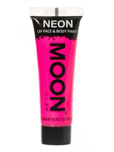 Gel visage et corps rose fluo UV 12 ml Moonglow ©
