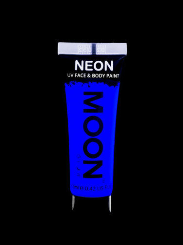 Gel visage et corps bleu UV 12 ml Moonglow ©-1