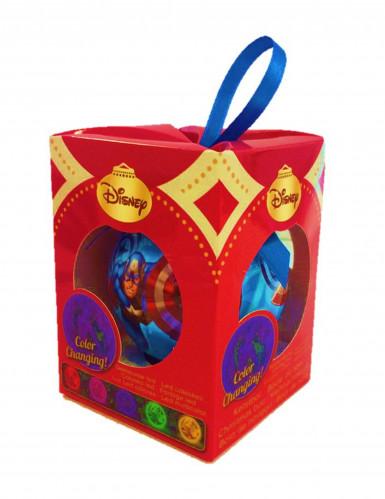 Boule de Noël lumineuse Avengers™ 7,5 cm-1