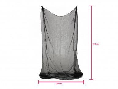 Drap noir d'Halloween 150 x 210 cm-2