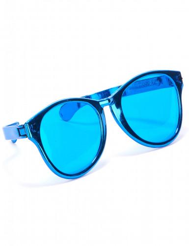 Lunettes géantes adulte bleu