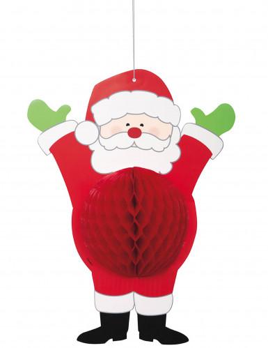 Suspension en papier Père Noël 35.5 cm