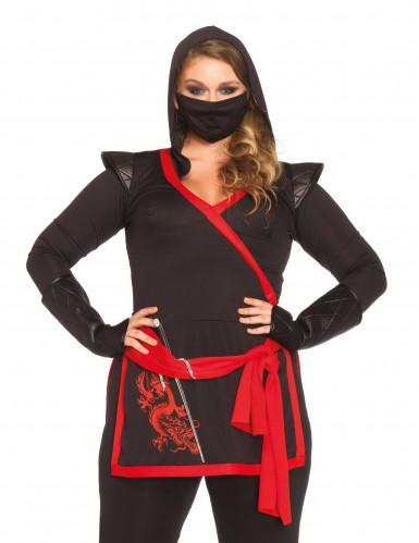 Déguisement ninja assassin femme-1