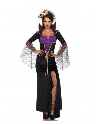 Déguisement sorcière de conte malfaisante femme Halloween