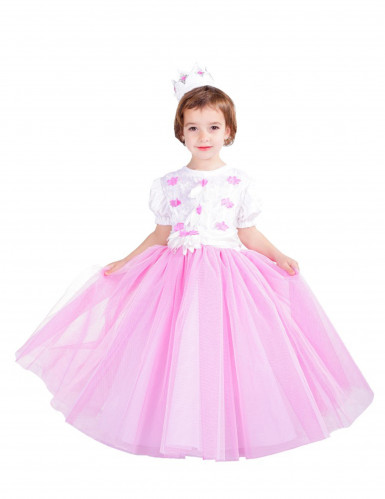 Déguisement Princesse rose fille - Premium