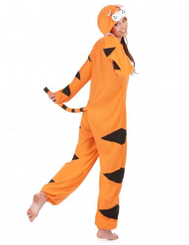 Combinaison à capuche tigre femme-2