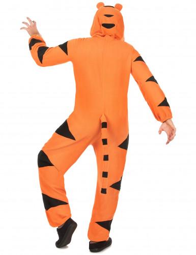 Combinaison à capuche tigre homme-2