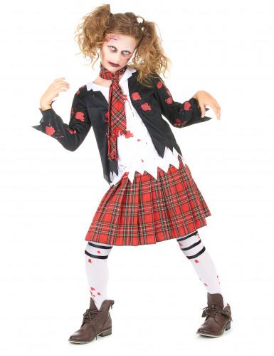 Déguisement écolière zombie fille Halloween