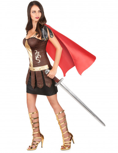 Déguisement de gladiateur romain femme-1