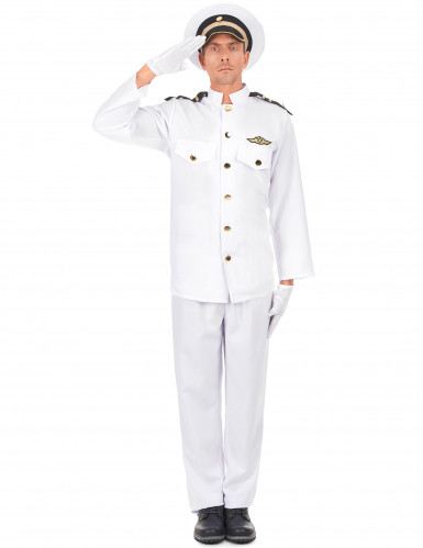 Déguisement uniforme d'officier de la marine