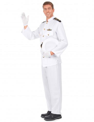 Déguisement uniforme d'officier de la marine-1