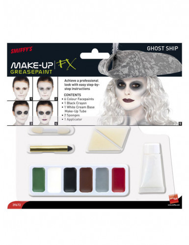 Kit maquillage pirate des mers femme-1