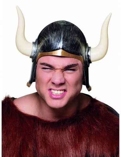 Casque viking à cornes adulte