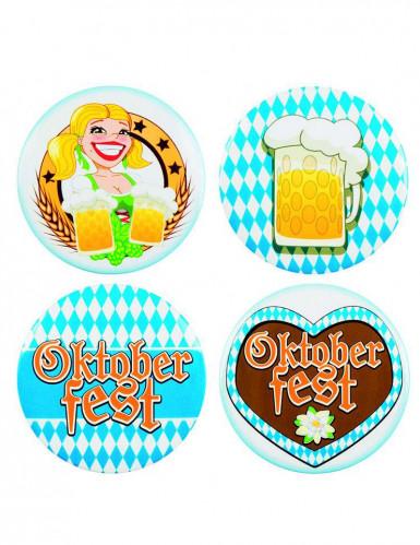 4 Badges Oktoberfest 5 cm