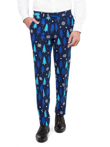 Costume Sapins bleus royals Opposuits™ homme-1