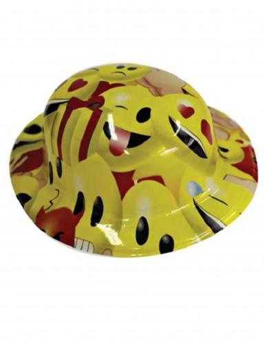 Chapeau de fête melon adulte Imoji™