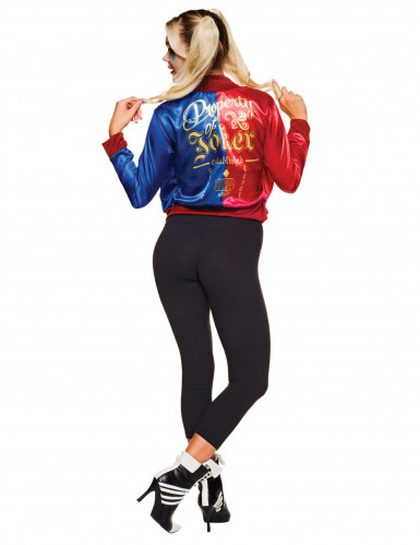 Veste et t-shirt intégré Harley Quinn Suicide Squad™ femme-1