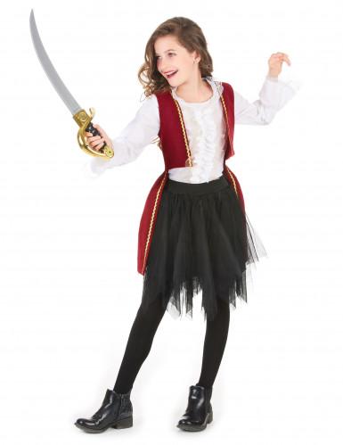 Déguisement pirate tutu fille