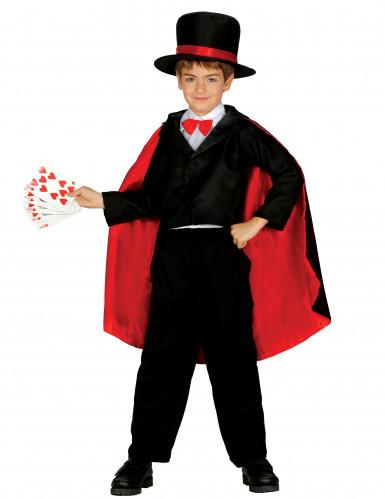 Déguisement magicien effet satin garçon