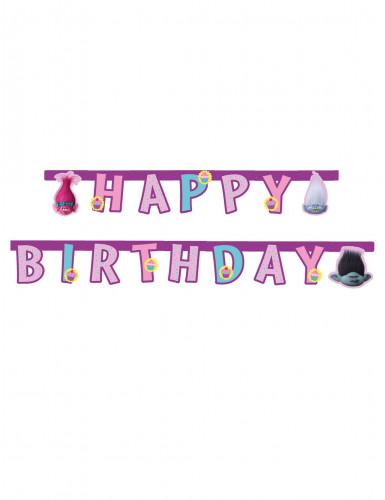Guirlande Happy Birthday Trolls™ 1.9 mètres