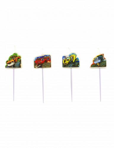 4 Bougies pics Blaze et les Monster Machines™