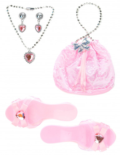 Kit accessoires princesse rose fille