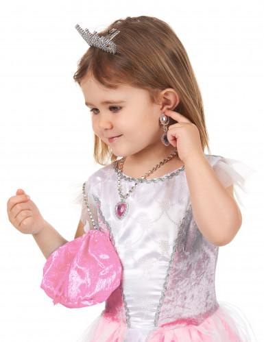 Kit accessoires princesse rose fille-2