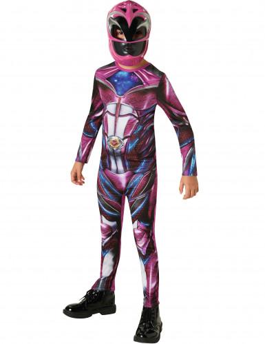 Déguisement classique Power Rangers™ Rose enfant-1
