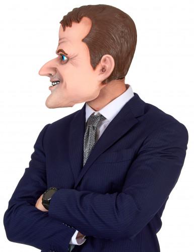 Masque humoristique en latex Emmanuel adulte-1
